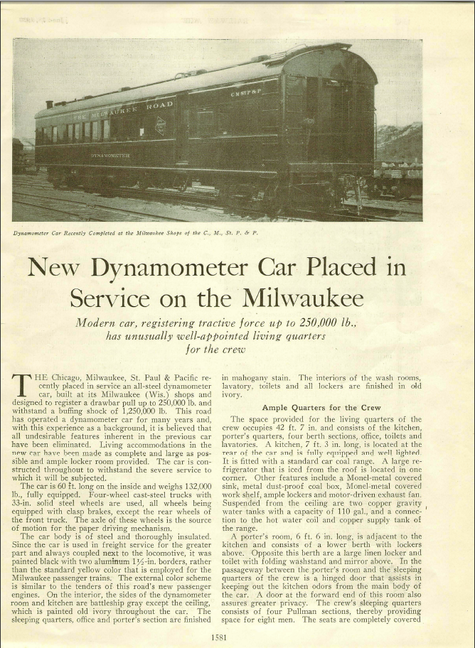 1930 Dynamometer Article Page 1
