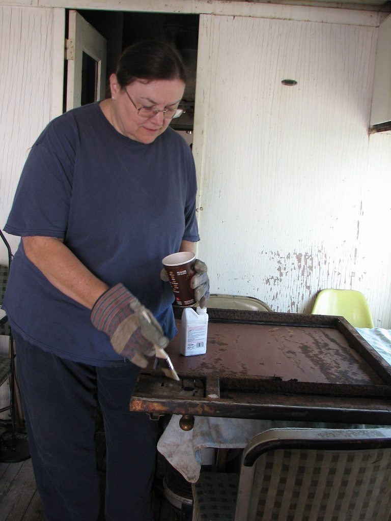Pauline Applying Rust Converter